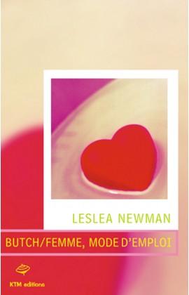 """""""Butch/femme, mode d'emploi"""" , un roman lesbien hilarant, de Lesléa Newman."""