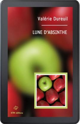 """Ebook Lesbien, """"Lune d'absinthe"""", l'histoire d'une femme qui aime les femmes en Belgique."""