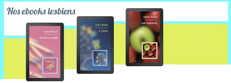 Les meilleurs ebooks lesbiens sont chez de KTM éditions